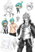 Doodle Dump 09: Cael by whitty-boo