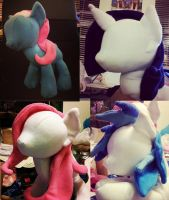 In Progress Plushies by LilWolfStudios