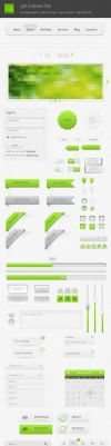 50+ User Interface Elements by alfuciic