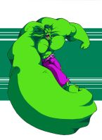 Hulking Out by immilesaway