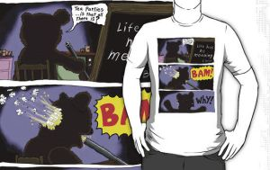 Suicide of T Bear Tshirt by sicklilmonky
