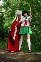 InuyashaxKagome - I'll Protect You Kagome! by HyperLittleNori