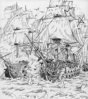 Naval Battle of Merd by Shabazik