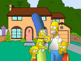 simpsons by dielectric-m