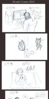 Hourly Comics 2012 by Allysdelta