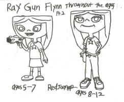 Ray Gun Throughout the Ages part 2 by RedJoey1992