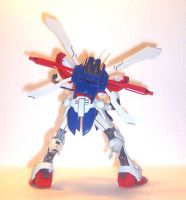 MG God Gundam Back by HDorsettcase