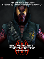 POSTER: Scarlet Spider / Fan Made #1 by LunestaVideos