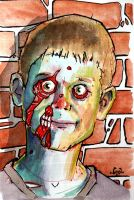 Evan the Zombie by BYRONvonREMPEL