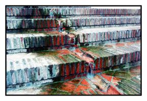 Wet steps by Despista0