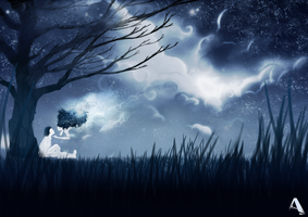 Whispers Under The Moonlight by Ashwyerio