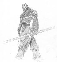 Sith Lord - Darth Maul by Wolf-Signs