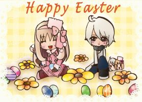 Aph-Happy Easter by ryoyi