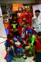 Marvel vs Capcom 3 Group 1 by chloebs