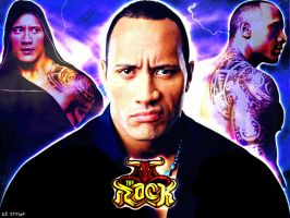 The Rock Wallpaper by AISTYLES