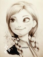 Anna Frozen by torakun14