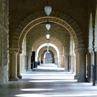 Arched Aisle by AtomicBrownie