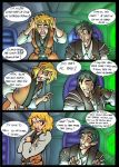Atton and Exile Kyla79's comic by BerenicePotter