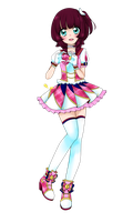 Pink Berry parade coord by Guminaut