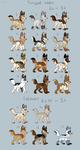 Canine Adoptables batch 2 (And Leftovers) by Kitchiki