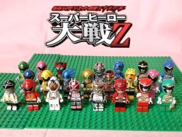 LEGO Super Hero Taisen Z by 0yakata