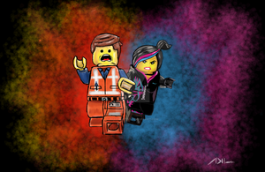 Everything Is Awesome -The LEGO Movie by kill312