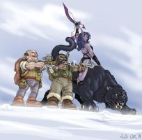 Warcraft Gang by ChateNoire
