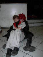 Akuroku Axel and Roxas cosplay by KellyJane