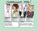 COMMISSION INFO by Dragoncookie