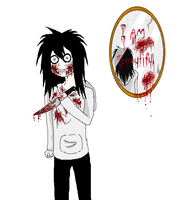 Jeff The killer by WolfieMoonscar
