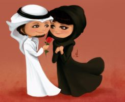 saudi love by saroOony