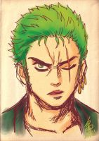 Doddle-zoro by hyuthefish