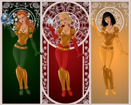 Totally Spies Goddess by DiaperLulu
