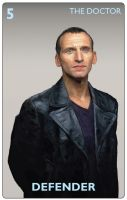 The Doctor Who Card Game - The Ninth Doctor by JonHodgson