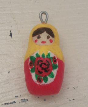 Matryoshka Doll Charm by knacc