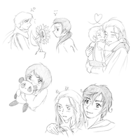 APH: Sketch dump by ValentineUmbreon