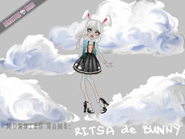 Monster High Contest - Ritsa de Bunny by Seiikii