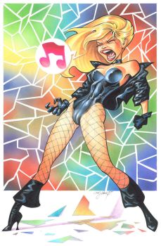Black Canary by andypriceart
