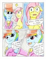 Fluttershy and the Rainbow Factory P.21 by The1King