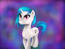 Vinyl Scratch by bubbleyfisheyo3o