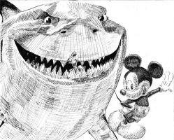 Disney Characters by Rose--Wolf