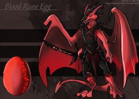 Blood Rune Egg - Adoptable by Ulario
