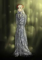 Elven King Thranduil by Cilibi