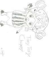 Tony Tony Chopper by alpha-sentinals