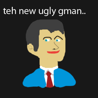 teh new ugly gman by Fpsdown