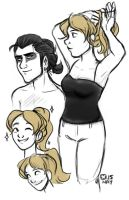 Ponytail by StressedJenny