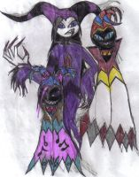 Jake, Dead Eye, and Jackle by werecatkid17
