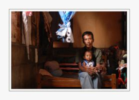 Potrait of Poor Family 2 by PictureOfIndonesia
