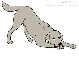 Purssia as a dog by scarlet100