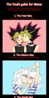 The yami's guide for kisses. by LaYanoNightWhisper4
